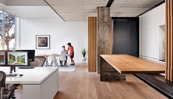 architecture design COVID-19 social distance office